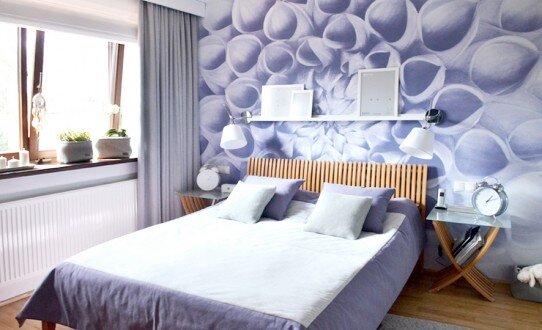 2014, aranżacja sypialni w domu jednorodzinnym