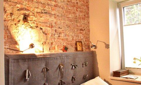2014, sypialnia w stylu loftowym
