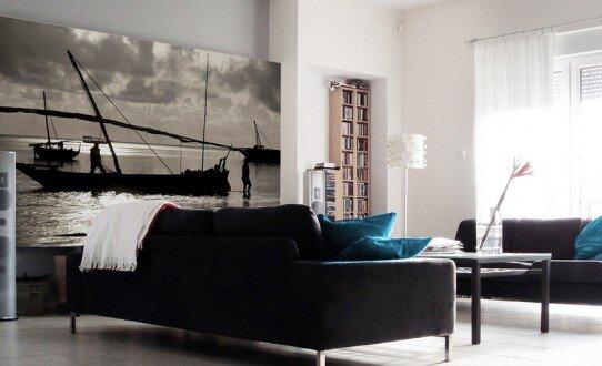 2007, aranżacja salonu, fotografia, nadruk na płótnie typu canvas