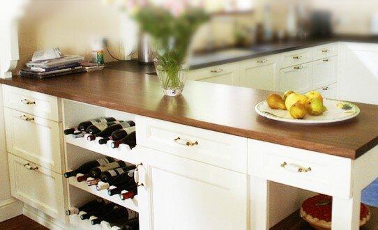 2011, zabudowa kuchni w stylu prowansalskim