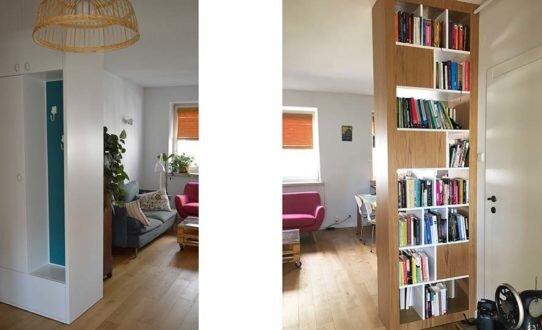 2017 lifting mieszkania na Żoliborzu, dobór wyposażenia
