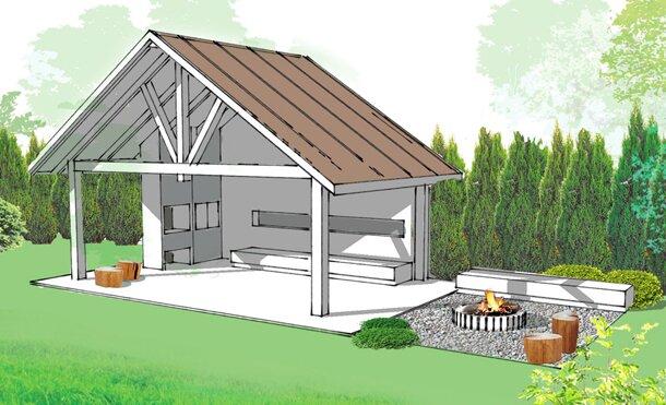 Beata S., 2014 – projekt modernizacji ogrodu przydomowego