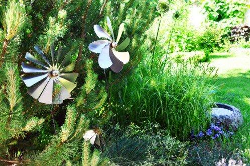 2008, nasadzenia w stylu naturalistycznym w ogrodzie