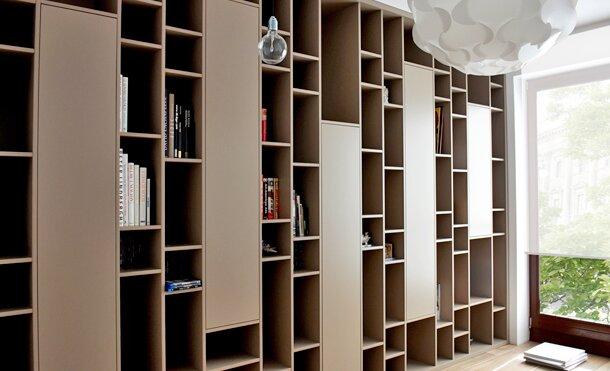 Iwona K., 2013, projekt mebli na zamówienie, apartament W-wa Wilanow